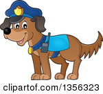 Police officer and dog clipart graphic freeuse Police officer and dog clipart - ClipartFest graphic freeuse