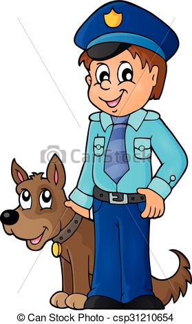 Police officer and dog clipart clip art Police officer and dog clipart - ClipartFest clip art