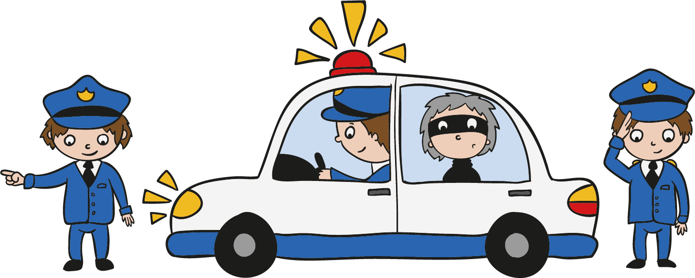 Police officer car clipart library Police officer Theft Clip art - Anti-theft security alarm poster ... library