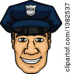 Police officer face clipart clipart royalty free download Clipart of Faces with Different Expressions and Text 3 - Royalty ... clipart royalty free download