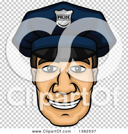 Police officer face clipart image royalty free stock Clipart of a Cartoon Male Caucasian Police Officer Face - Royalty ... image royalty free stock