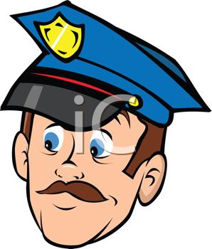 Police officer face clipart jpg stock Police officer face clipart - ClipartFest jpg stock