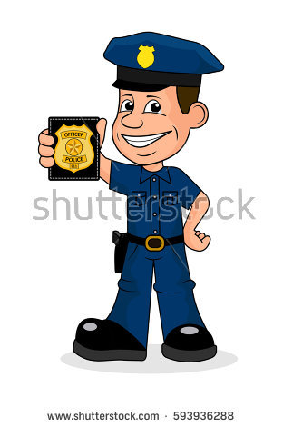 Police officer face clipart banner free library Officer Stock Vectors, Images & Vector Art | Shutterstock banner free library