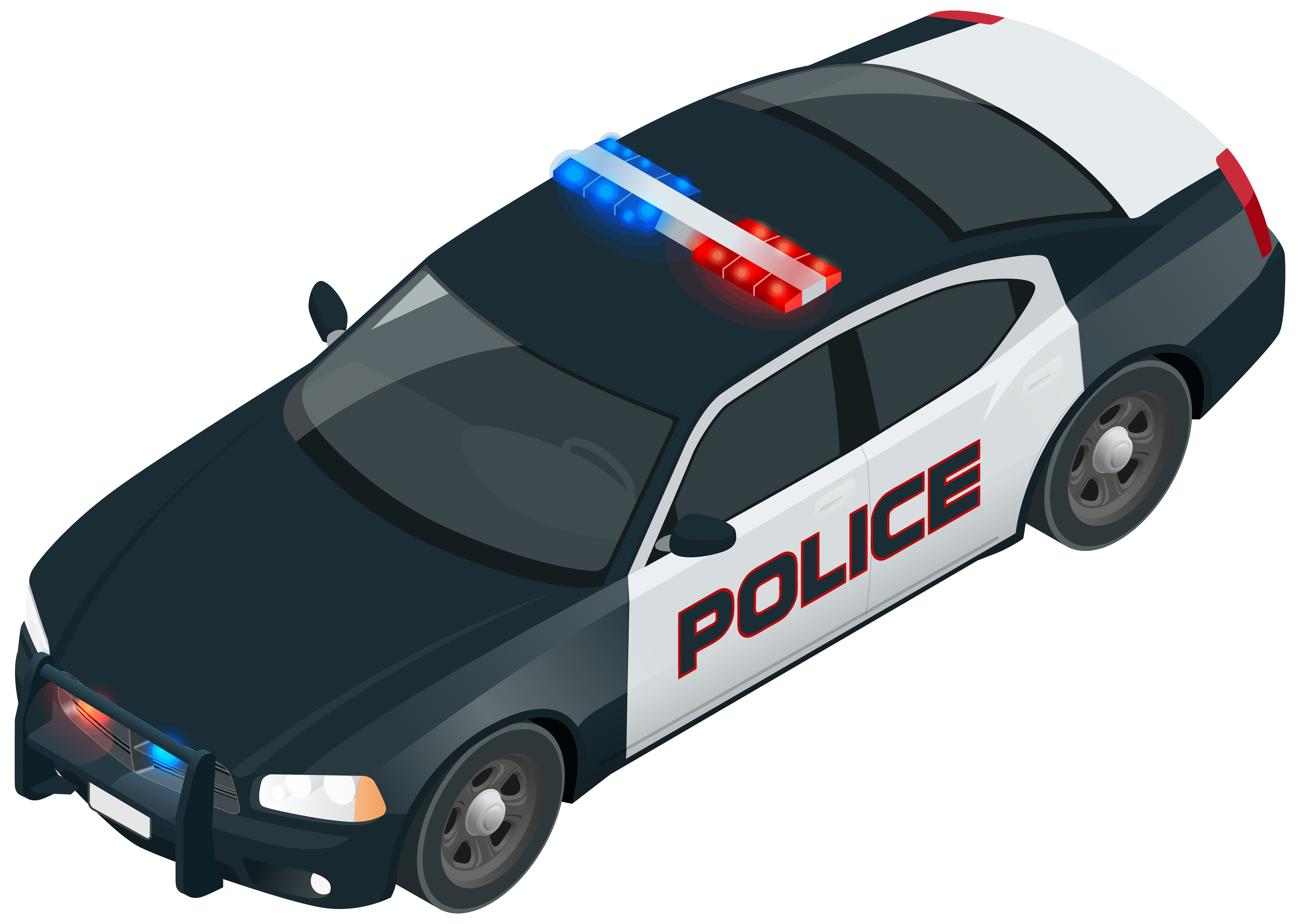 Police patrol car clipart graphic freeuse Police car Police officer - Police Car PNG Clip Art Image 8000*5689 ... graphic freeuse