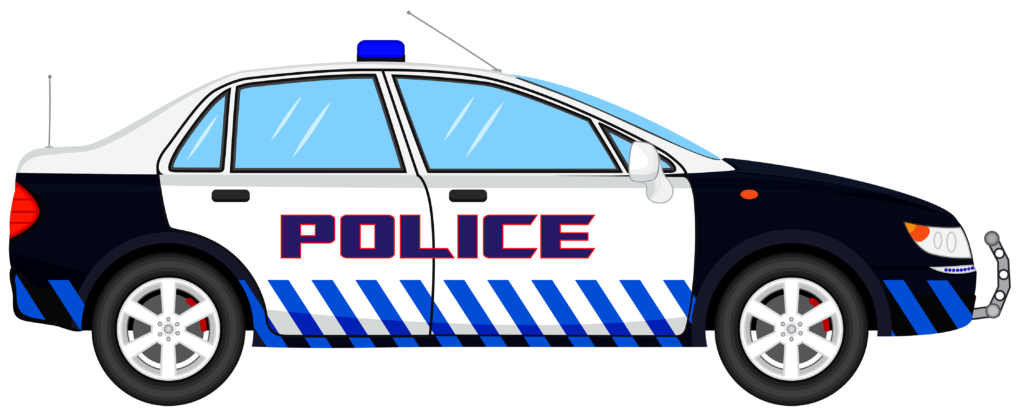 Police patrol car clipart clip black and white Collection of 28 Police Car Clipart Images - Free Clipart Graphics ... clip black and white