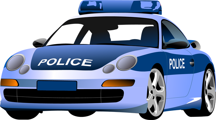 Police patrol car clipart svg freeuse Police Car Clip Art Pictures to pin on Pinterest | Red Car, Police ... svg freeuse