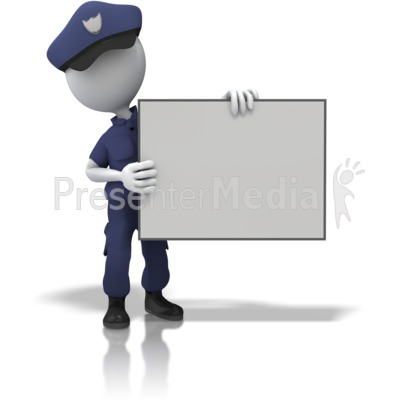Police powerpoint backgrounds clipart banner transparent download Police Officer Hold Sign - Presentation Clipart - Great ... banner transparent download