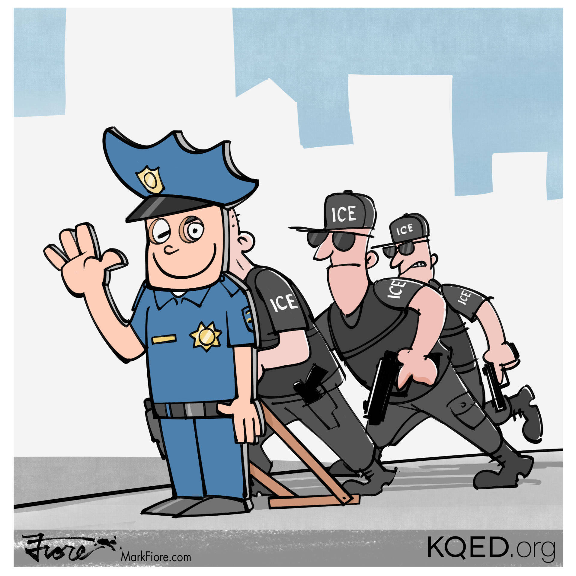 Police raid clipart svg freeuse library police commission | KQED News | KQED Public Media for ... svg freeuse library