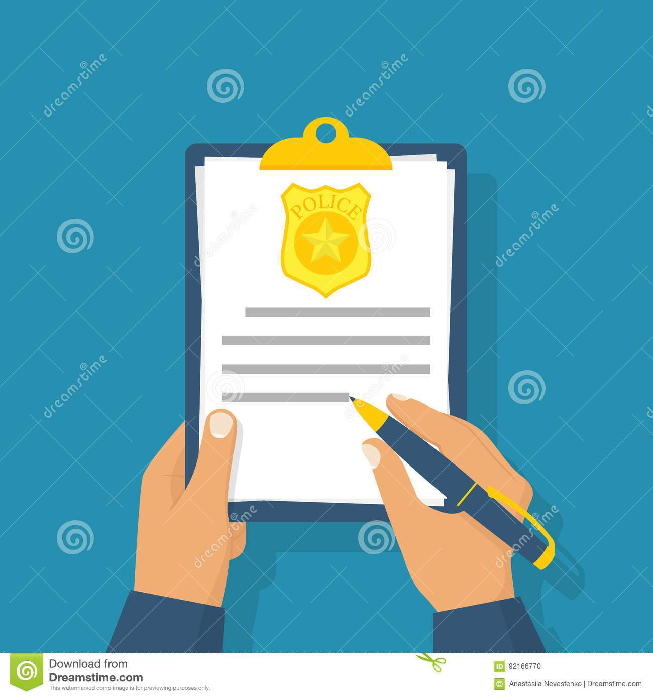 Police report clipart graphic stock Police report clipart 6 » Clipart Portal graphic stock