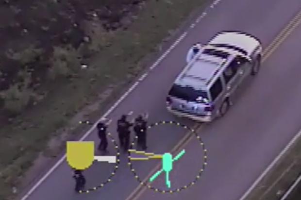Police shooting banner royalty free Videos show Oklahoma police shooting and killing unarmed black man ... banner royalty free