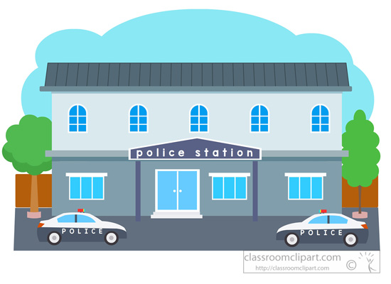 Police station building clipart png freeuse Police Station Clip Art & Police Station Clip Art Clip Art Images ... png freeuse
