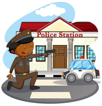 Police station building clipart svg stock 1,552 Police Station Cliparts, Stock Vector And Royalty Free ... svg stock