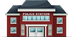 Police station building clipart clip black and white download Clipart police station - ClipartFest clip black and white download