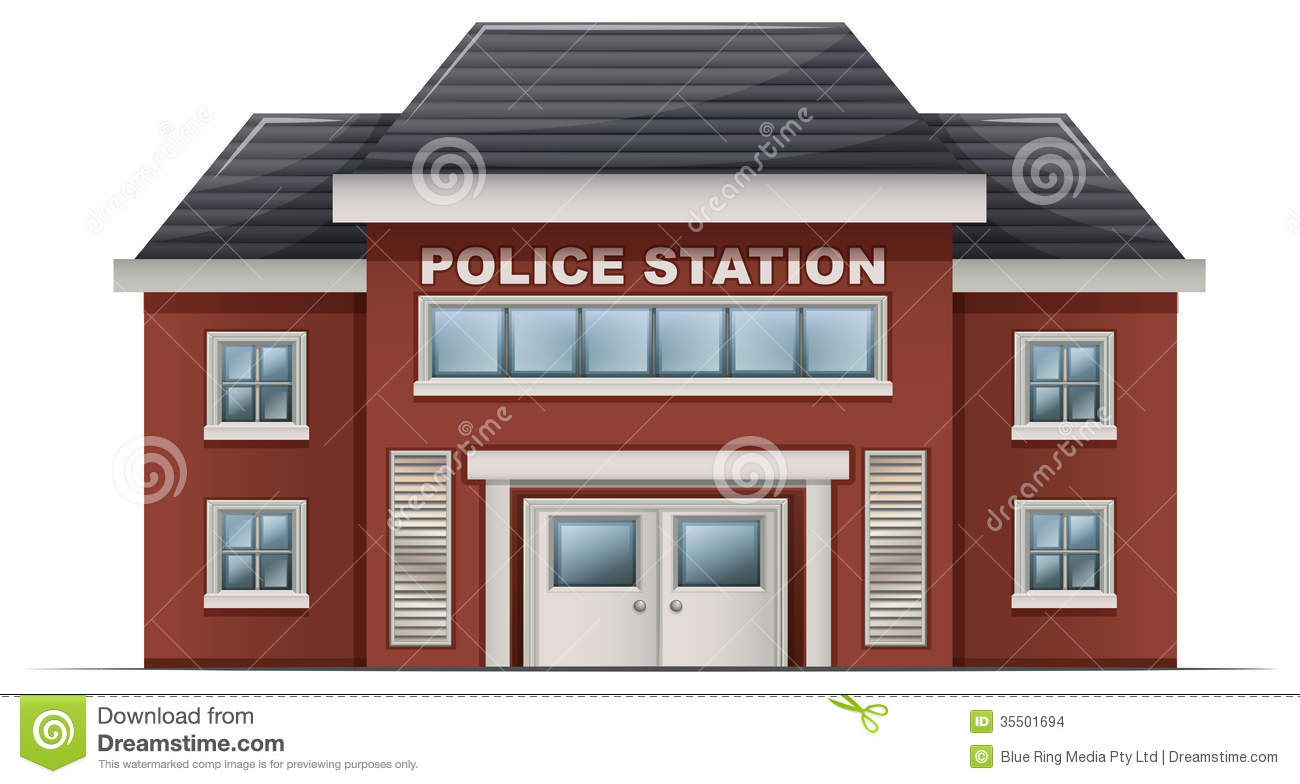 Police station building clipart clip art freeuse library Police station building clipart - ClipartFest clip art freeuse library