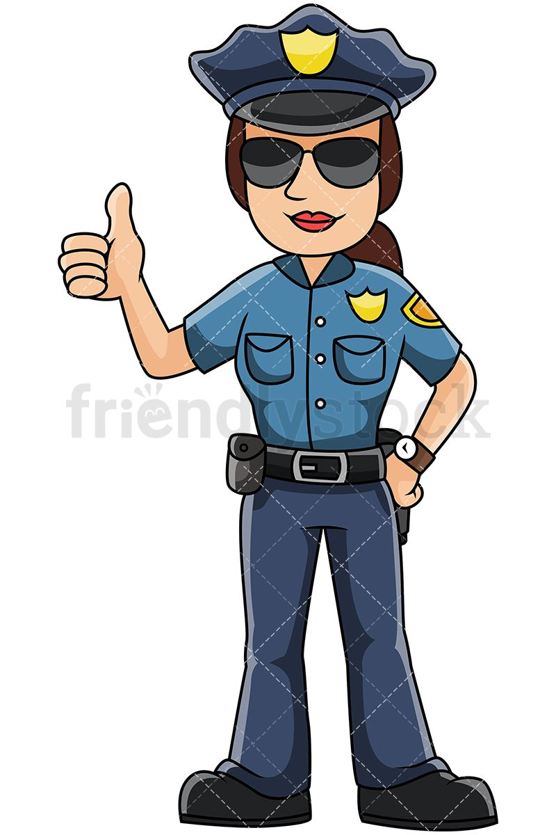 Police suit clipart clipart royalty free download Female Police Officer Giving The Thumbs Up | What I wanna do ... clipart royalty free download