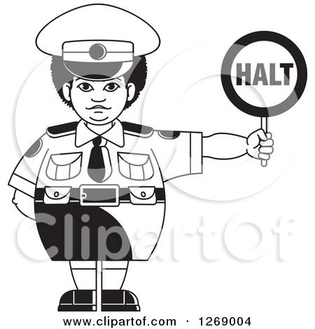 Police traffic woman clipart jpg free Royalty-Free (RF) Police Woman Clipart, Illustrations, Vector ... jpg free
