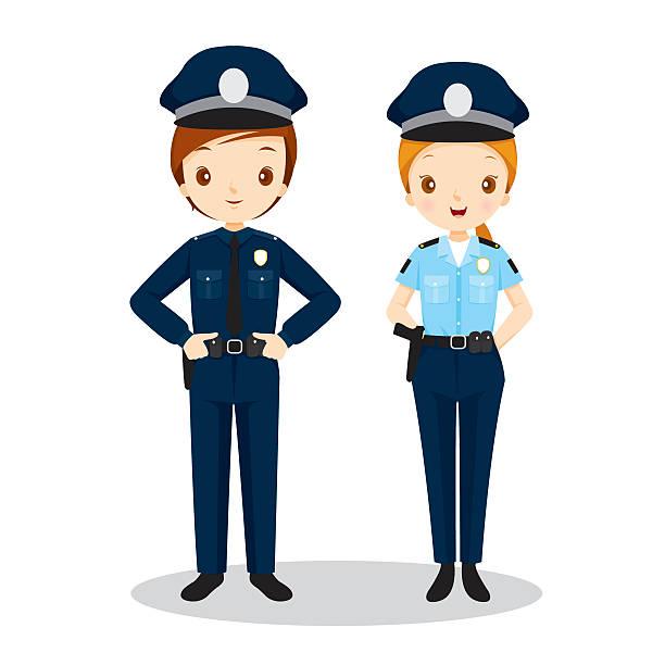Policewoman clipart vector transparent Police Uniform Clipart | Free download best Police Uniform ... vector transparent
