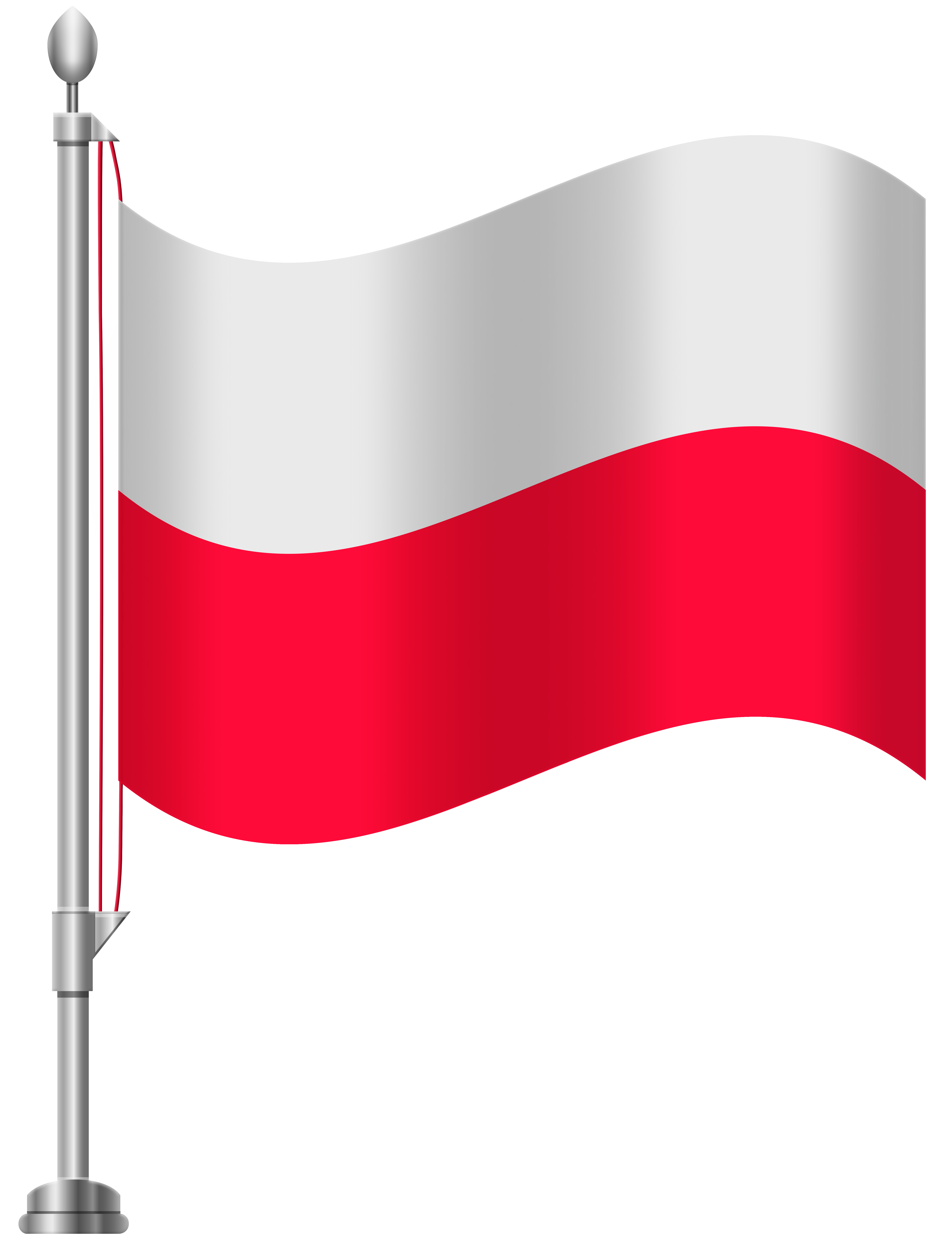 Polish flag clipart picture freeuse library Poland Flag PNG Clip Art - Best WEB Clipart picture freeuse library