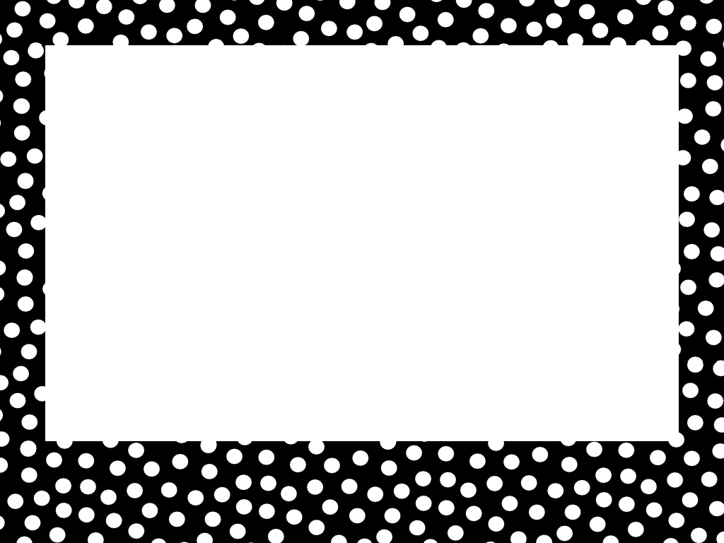 Polka dot border clipart black and white banner black and white library Polka Dot Border Png (+) - Free Download | fourjay.org banner black and white library