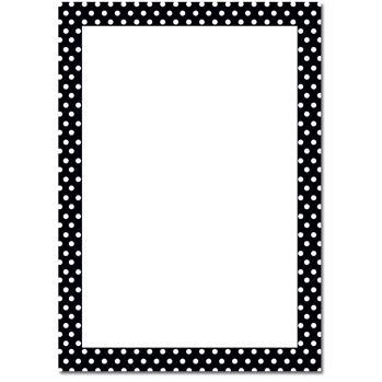 Polka dot border clipart black and white image freeuse download Free Polka Dot Border, Download Free Clip Art, Free Clip Art ... image freeuse download