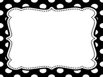 Polka dot border clipart black and white png royalty free library 84+ Polka Dot Border Clip Art | ClipartLook png royalty free library