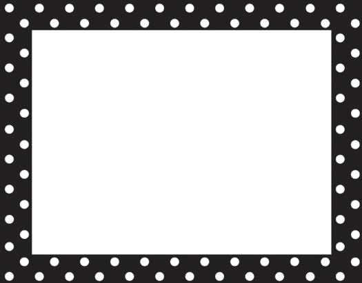 Polka dot border clipart black and white banner royalty free stock Free Red Polka Dot Border Free, Download Free Clip Art, Free ... banner royalty free stock