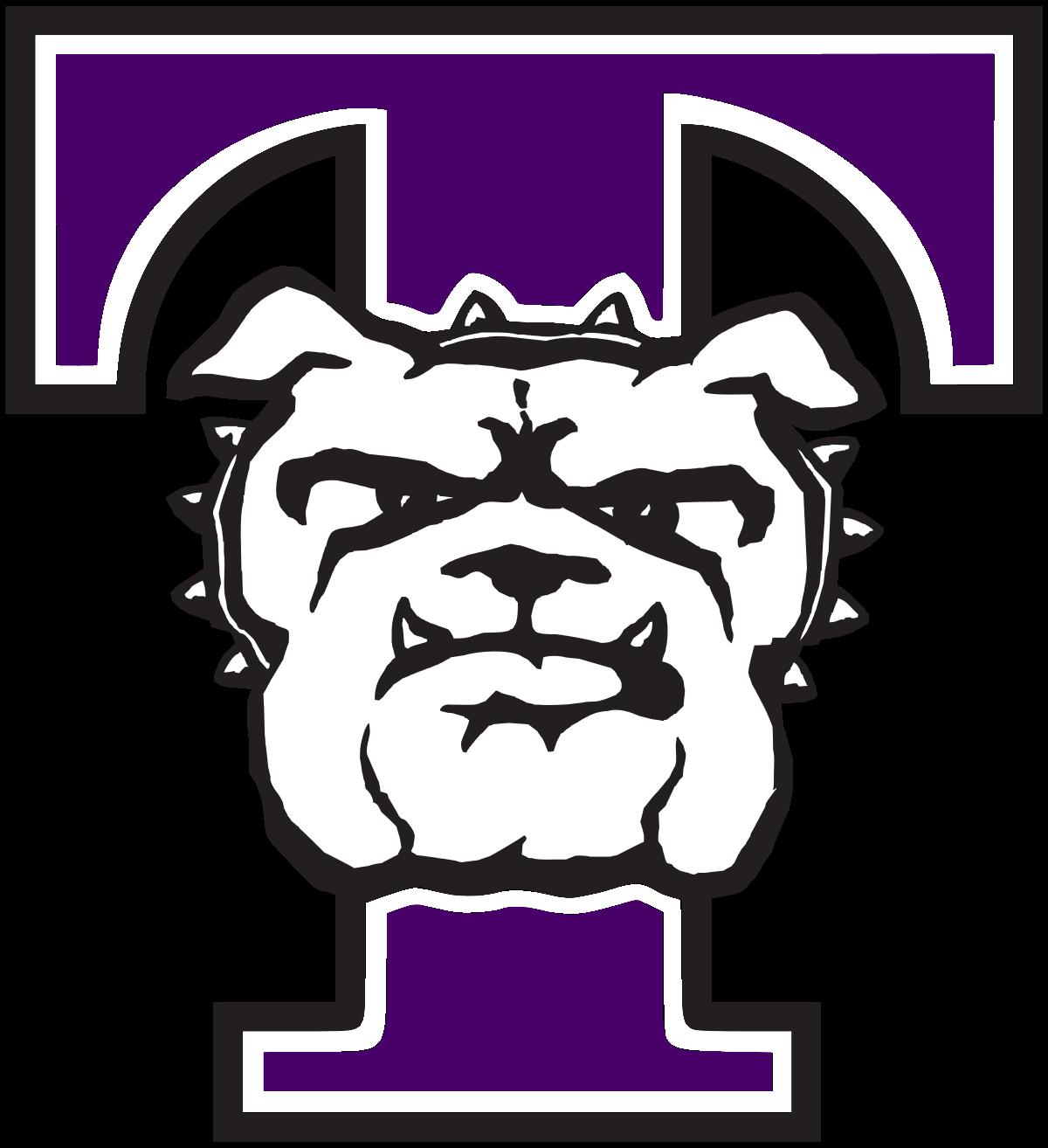 Polka dot bulldog basketball clipart black and white Truman Bulldogs - Wikipedia black and white