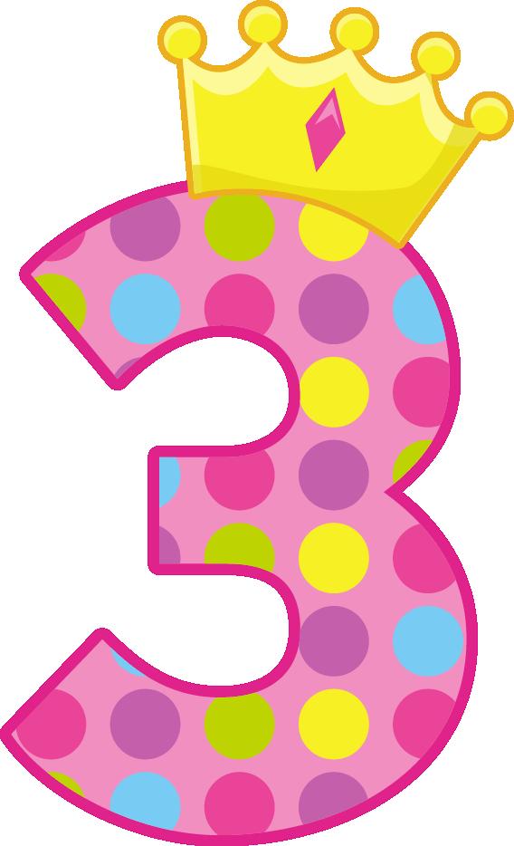 Polka dot cross clipart svg transparent download Princesas e Príncipes - PrincessCrownNumbers_3.png - Minus | CLIPART ... svg transparent download