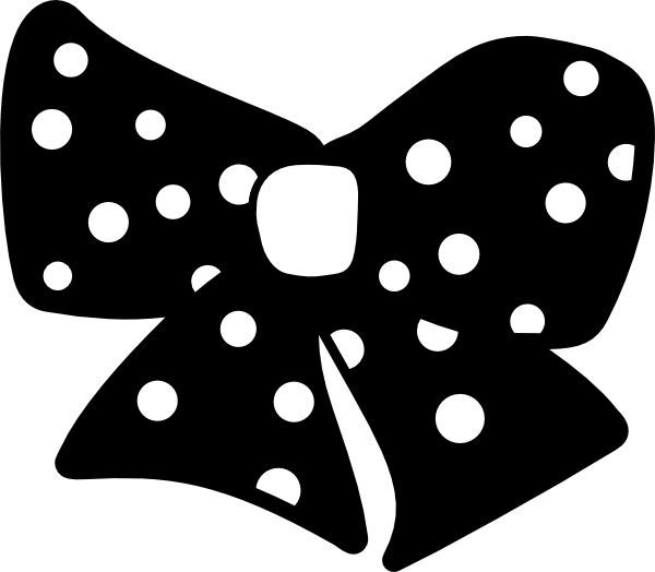Polka dot star clipart image black and white 28+ Collection of Polka Dot Clipart Black And White | High quality ... image black and white