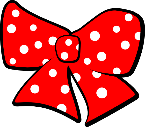 Polka dot star clipart transparent download Bow With Polka Dots Clip Art at Clker.com - vector clip art online ... transparent download