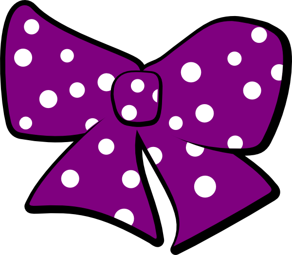 Polka dot star clipart jpg transparent Bow With Polka Dots Clip Art at Clker.com - vector clip art online ... jpg transparent