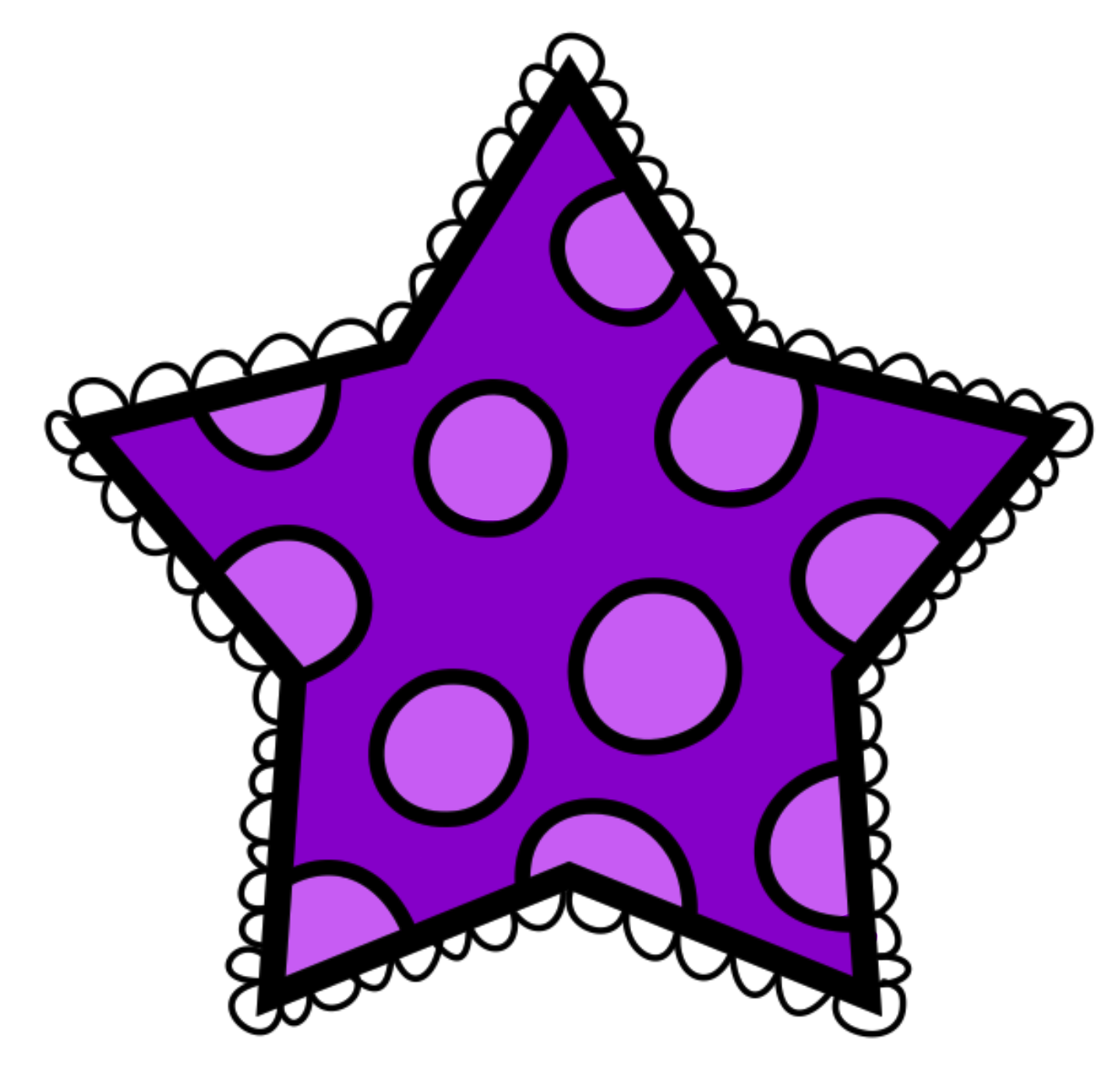 Polka dot star clipart jpg royalty free download Stars Clipart Polka Dot Free collection | Download and share Stars ... jpg royalty free download