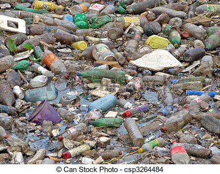 Polluted river clipart clip library library Stock Photo of image of a polluted River full of rubbish ... clip library library