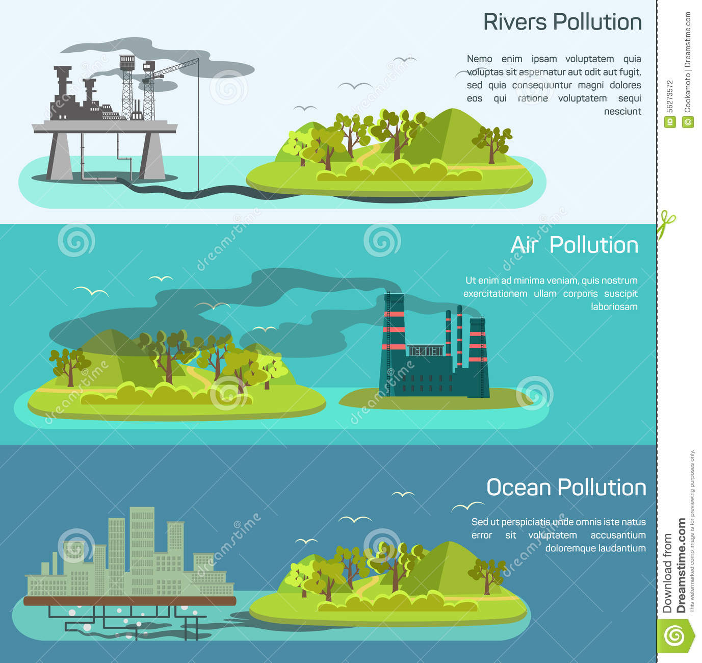 Polluted river clipart image royalty free library Polluted River Stock Illustrations – 81 Polluted River Stock ... image royalty free library