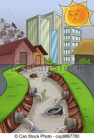 Polluted river clipart clip free Polluted river clipart - ClipartFest clip free