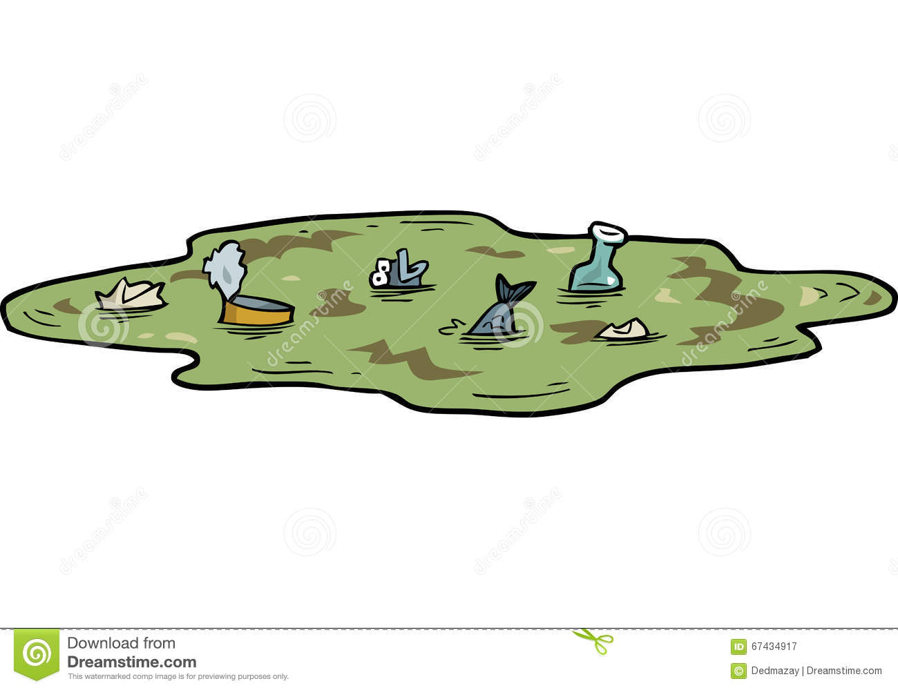 Polluted river clipart jpg black and white Polluted River Stock Illustrations – 81 Polluted River Stock ... jpg black and white