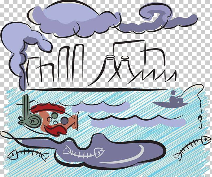 Polluted water clipart picture freeuse Water Pollution PNG, Clipart, Air, Area, Art, Blue, Cartoon ... picture freeuse