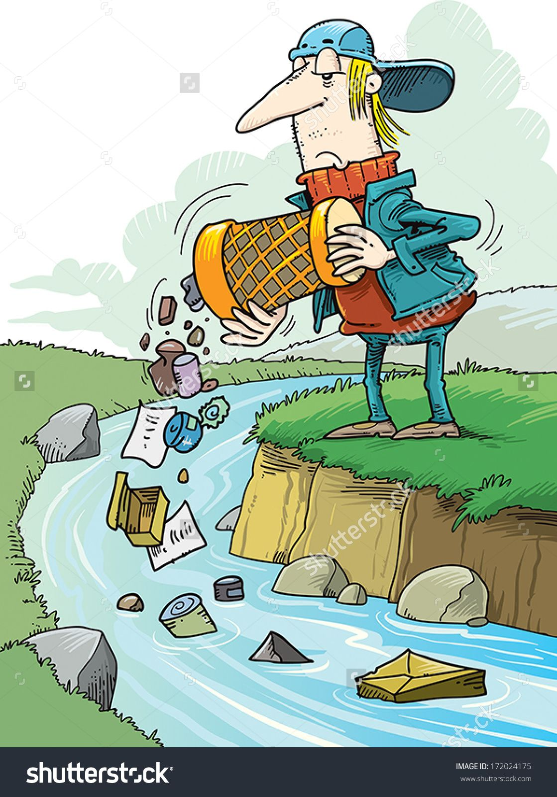 Polluted water clipart png free people polluting clipart - Google Search   البيئة   Clip art ... png free