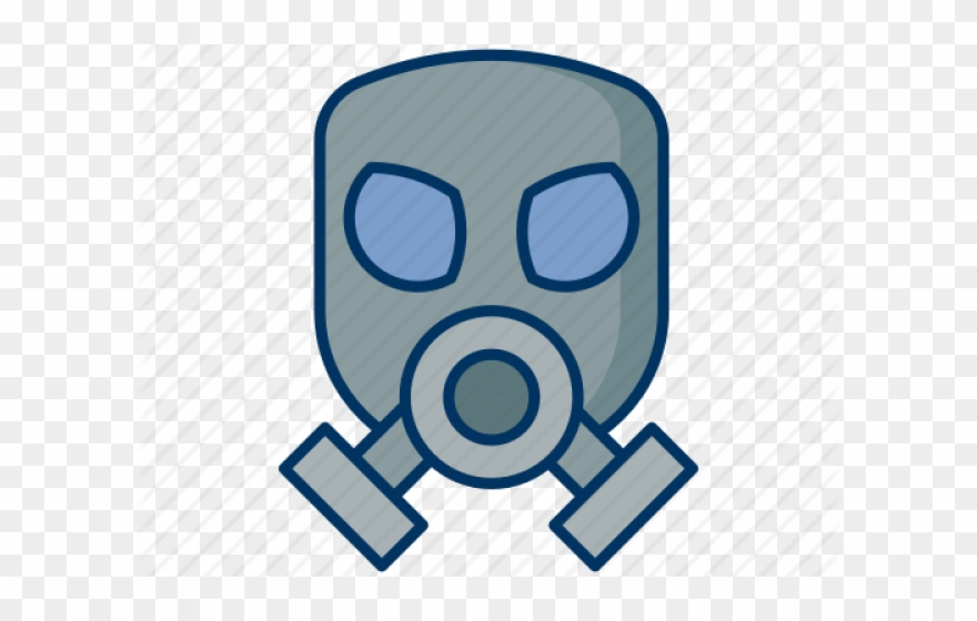 Pollution mask clipart