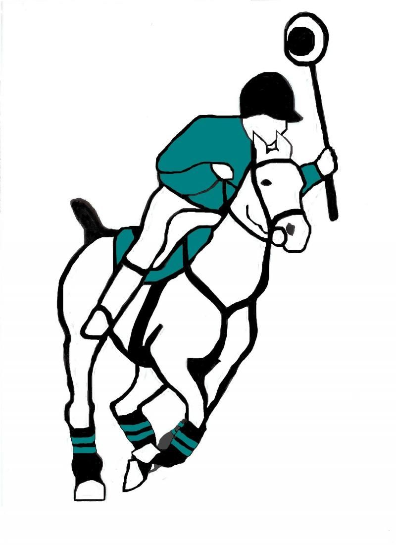 Polocrosse clipart svg royalty free stock Charlie Horse Polocrosse   My Passions   Charlie horse ... svg royalty free stock
