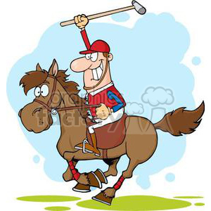 Polocrosse clipart png transparent 3377-Cartoon-Polo-Player clipart. Royalty-free GIF, JPG, PNG ... png transparent
