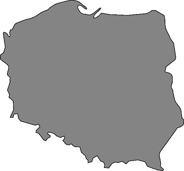 Polska clipart clip art freeuse Map Of Poland Clip Art at Clker.com - vector clip art online ... clip art freeuse