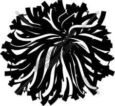 Pom pom black and white clipart png transparent Pom pom clipart black and white » Clipart Portal png transparent