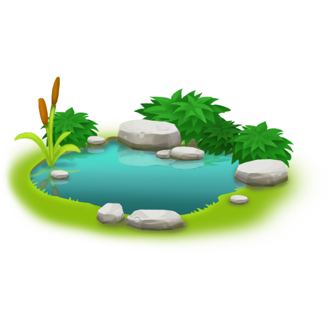 Pond fish clipart png image library library Image - Small Pond.png | Hay Day Wiki | FANDOM powered by Wikia image library library