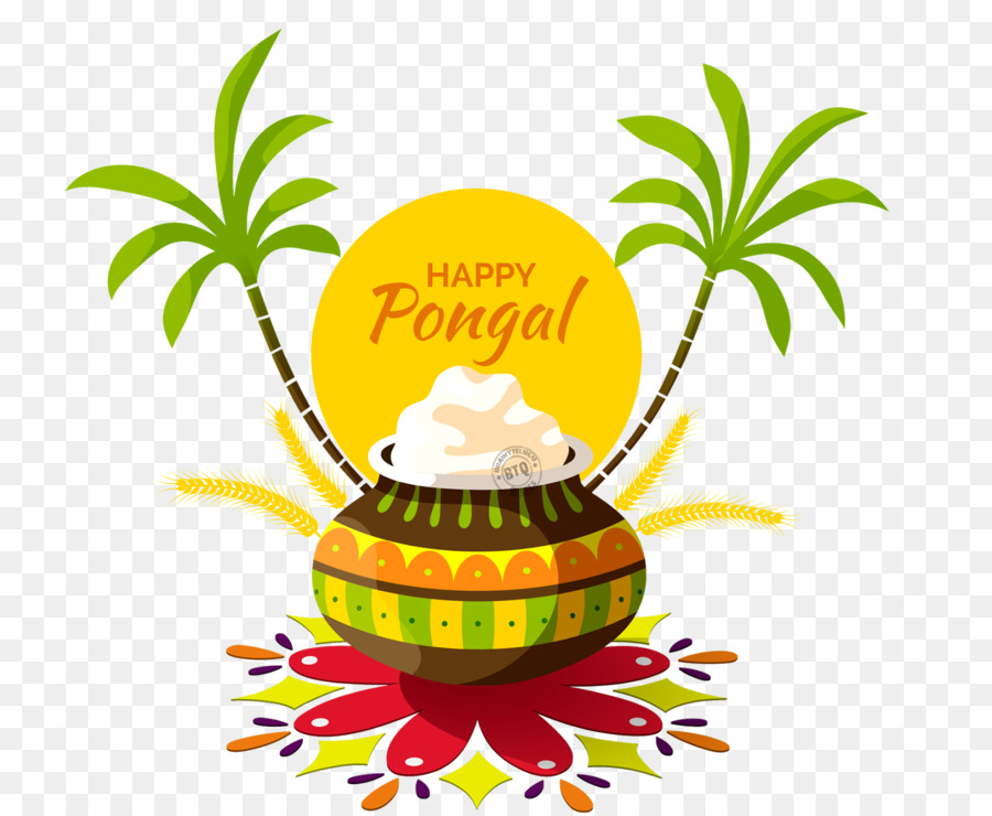 Pongal festival clipart png freeuse Happy Pongal - Thai Pongal - Harvest Festival clipart ... png freeuse