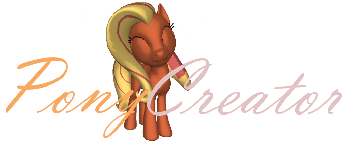 Pony creator svg black and white library 3D Pony Creator by PonyLumen svg black and white library