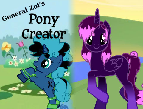 Pony creator jpg transparent library Pony Creator | Create a My Little Pony Online jpg transparent library