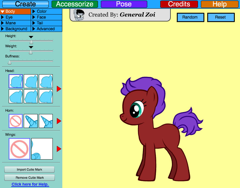 Pony creator free Pony Creator game - FunnyGames.in free