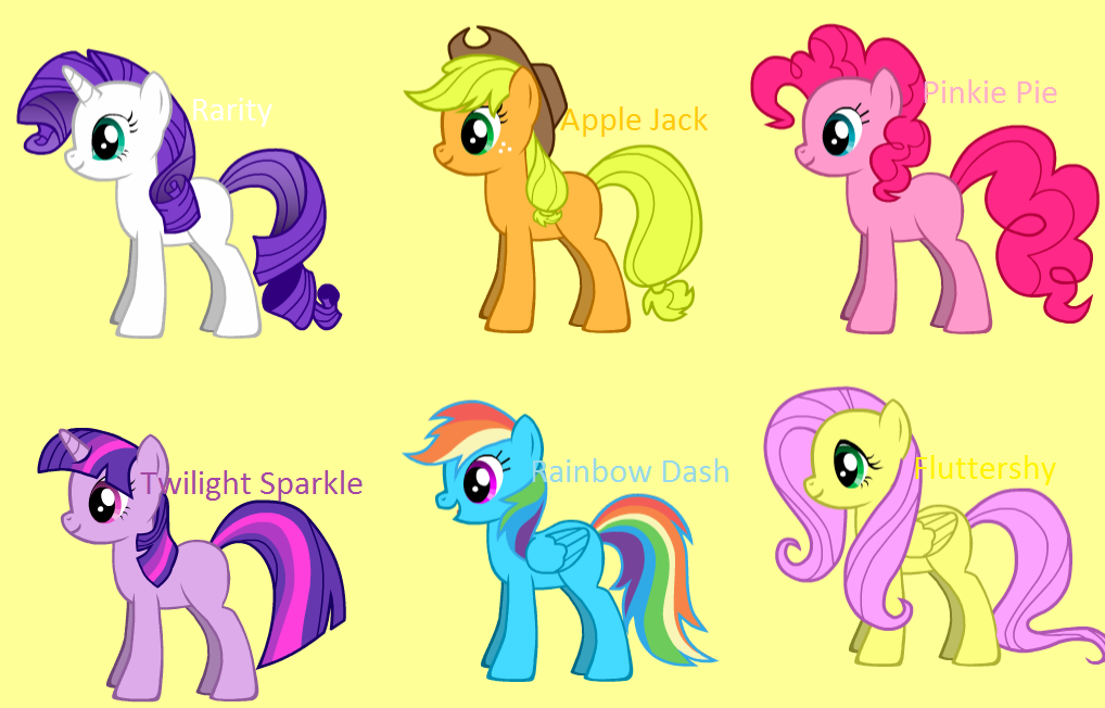 Pony creator banner freeuse download The main six - Pony Creator by Ninjagirl552 on DeviantArt banner freeuse download