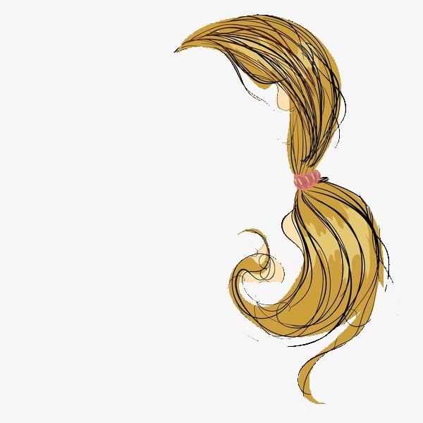 Ponytail hair clipart banner black and white library Ponytail hair clipart 6 » Clipart Portal banner black and white library